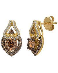 Le Vian ? 14k 1.28 Ct. Tw. Diamond Earrings - Metallic