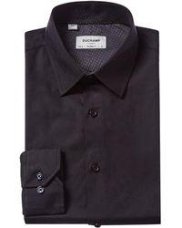 Duchamp Tailored Fit Dress Shirt - Black