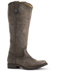 Frye Melissa Lug Leather Tall Boot - Multicolour