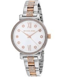 Michael Kors Women's Sofie Watch - Metallic
