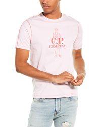 C.P. Company C. P. Company Logo T-shirt - Pink