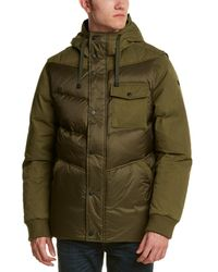 Victorinox Swiss Army Quilted Down Jacket - Green