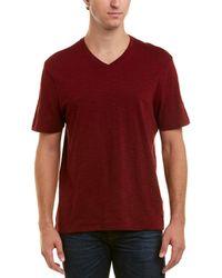 Vince V-neck T-shirt - Red