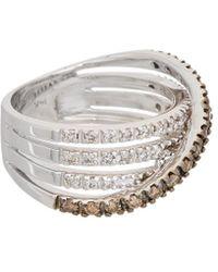 Effy - Fine Jewellery 14k 0.65 Ct. Tw. Diamond Ring - Lyst