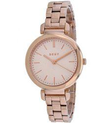 DKNY Ellington Watch - Pink