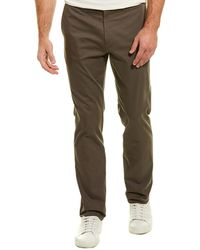 Theory Jake W.stretch Broken Twill Pant - Green
