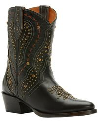 Frye - Kelsea Stud Short Leather Boot - Lyst