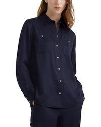 Club Monaco Carpenter Shirt - Blue
