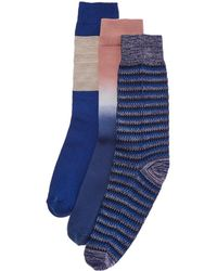 Richer Poorer - Set Of 3 Sock - Lyst
