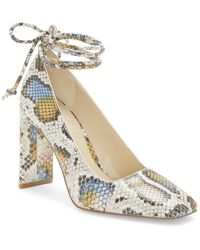 Vince Camuto Damell Leather Pump - Multicolor