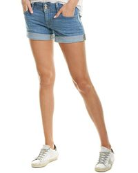 Hudson Jeans Ruby Galway Mid-thigh Short - Blue