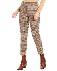 J.Crew Cameron Wool-blend Pant - Brown