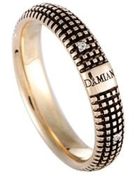 Damiani - 18k Two-tone Diamond Ring - Lyst