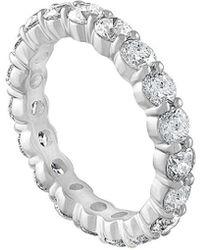 Diana M. Jewels . Fine Jewellery 18k 2.50 Ct. Tw. Diamond Eternity Ring - Metallic