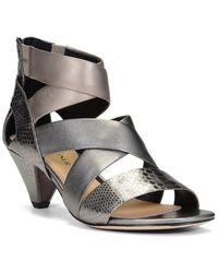 Donald J Pliner Dalas Leather Sandal - Metallic