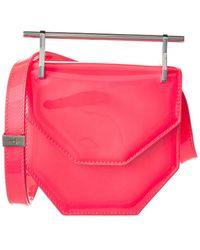 M2malletier Amor Fati Mini Patent Shoulder Bag - Pink