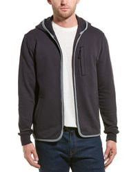James Perse French Terry Hoodie - Blue