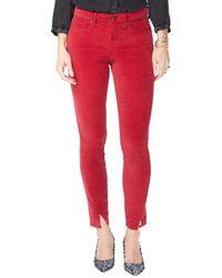 NYDJ Ami Twisted Gooseberry Skinny Leg - Red