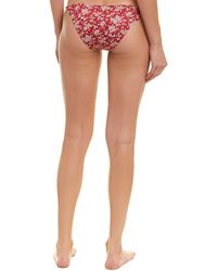 Eberjey Aviary Floral Perry Bottom - Red