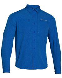 Under Armour - Men's Armourvent Long Sleeve Shirt - Lyst