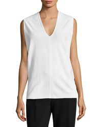Narciso Rodriguez - Draped T-shirt - Lyst