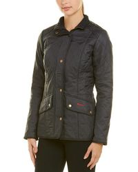 Barbour Cavalry Quilted Shell Jacket - Blue