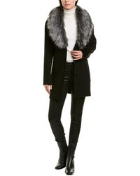 Laundry by Shelli Segal Single-breasted Coat - Black