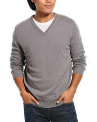 Phenix Cashmere V-neck Jumper - Grey