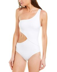 Solid & Striped The Claudia One-piece - White