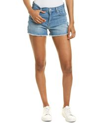 7 For All Mankind 7 For All Mankind Bona High-waist Short - Blue