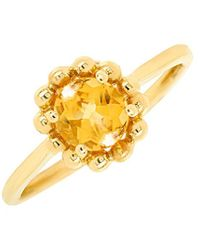 Diana M. Jewels - . Fine Jewelry 14k 3.13 Ct. Tw. Diamond & Citrine Ring - Lyst