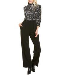 Donna Morgan Sequin Jumpsuit - Black