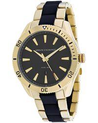 Armani Exchange Classic Watch - Metallic
