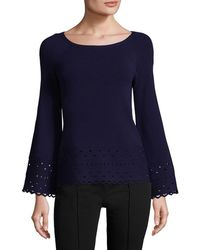 Ramy Brook - Dina Perforated Jumper - Lyst