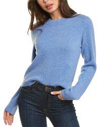 Rag & Bone Leyla Cashmere Sweater - Blue