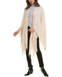 Rag & Bone Ombre Cotton Poncho Lightweight Poncho - Pink