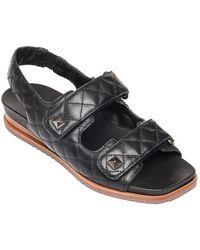 Bernardo Carlita Leather Sandal - Black