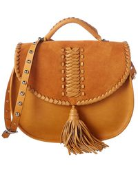 RED Valentino - Leather Saddle Bag - Lyst