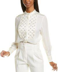 ESCADA Nassa Silk-blend Top - White