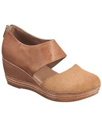 Antelope 423 Leather Wedge - Brown