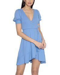 Susana Monaco Fitted Top - Blue