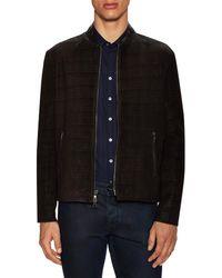 John Varvatos - Collection Slim Fit Printed Jacket - Lyst