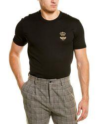 Dolce & Gabbana Dg Embroidery T-shirt - Black