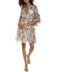 See By Chloé 2pc Midi Silk-blend Dress Set - Natural