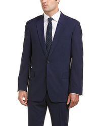 Brooks Brothers 2pc Regent Fit Wool Suit - Blue