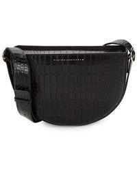 Victoria Beckham - Textured Leather Shoulder Bag - Lyst