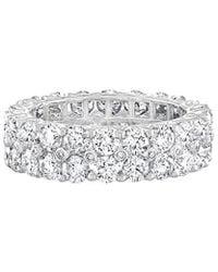 Diana M. Jewels . Fine Jewelry 18k 4.00 Ct. Tw. Diamond Eternity Ring - Multicolor