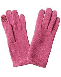 Portolano Cashmere Tech Gloves - Red