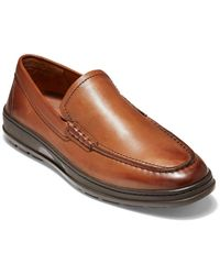 Cole Haan Leather Loafer - Brown