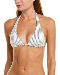 Vitamin A Talia Bikini Top - White